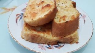 Fırında Kızarmış Yumurtalı Ekmek Tarifi