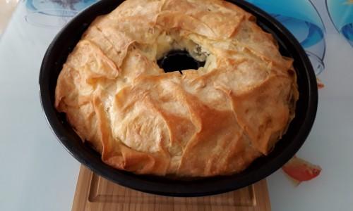 Kek Kalıbında Sodalı Börek