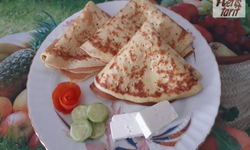 Kahvaltıya Nefis Krep Tarifi
