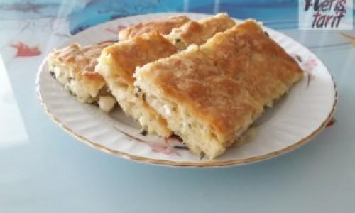 Peynirli Sodalı Tepsi Böreği