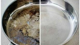 Tavadaki kurumuş yağ lekeleri nasıl çıkar?