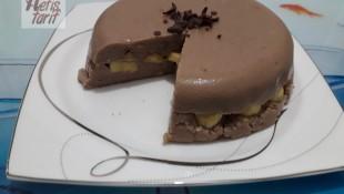 Çikolatalı Muzlu İrmik Tatlısı