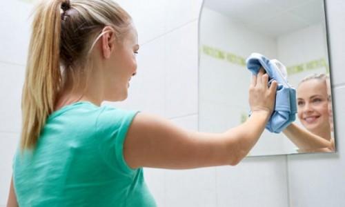 Banyo aynalarının buğulanmasını önlemek için