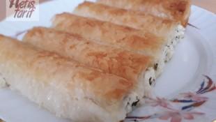 Baklava Yufkasından Peynirli Börek Tarifi